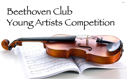Young Artists Competition Beethoven Club